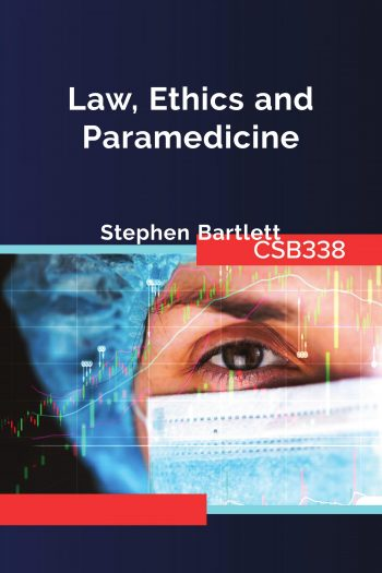 Cover image for CSB338 Ethics and the Law in Health Service Delivery